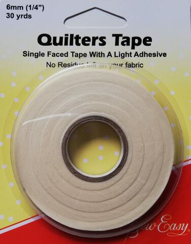 Quilters Tape 6 mm bred